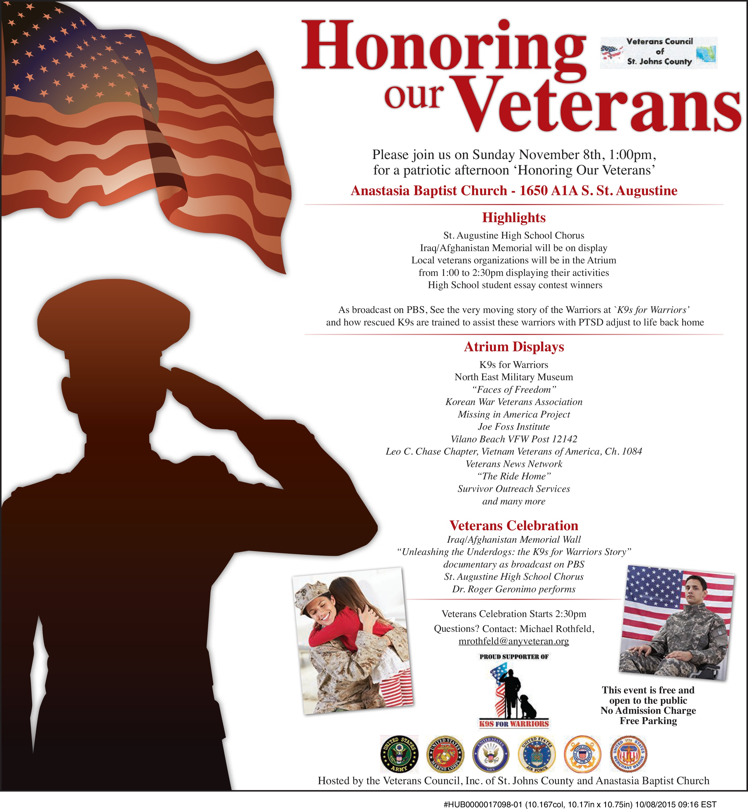 honoring our veterans st johns county