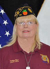 Kathryn Boyer, POW/MIA Chair