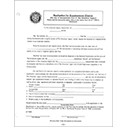 Supplemental Charter Sample Application