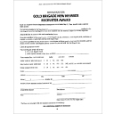 Gold Brigade Award Form