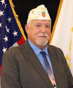 """Department Commander William """"Rick"""" Johnson"""