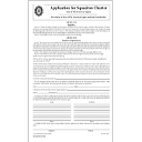 Application for Squadron Charter
