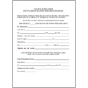 ALR History Book Certification Form
