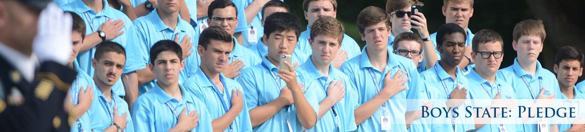 Boys State: Pledge