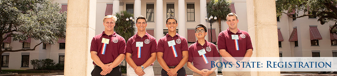Boys State: Registration