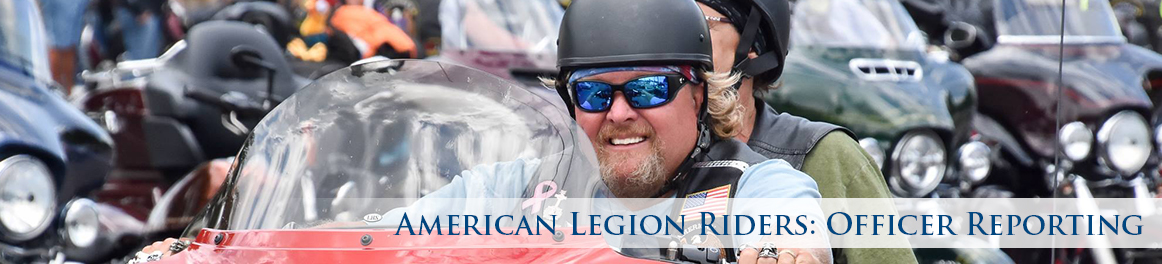 American Legion Riders: Officer Reporting