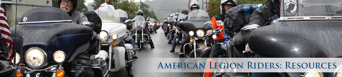 American Legion Riders: Resources