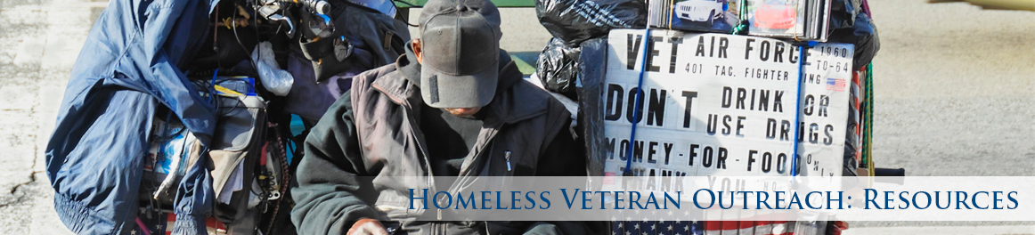 Homeless Veterans Outreach: Resources