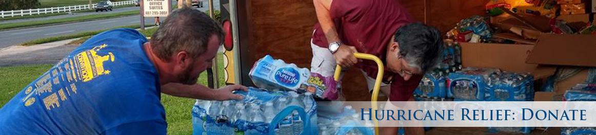 Hurricane Relief: Donate