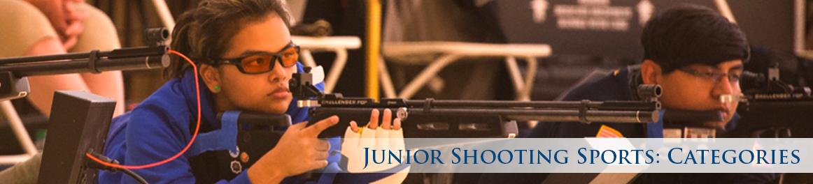 Junior Shooting Sports: Categories