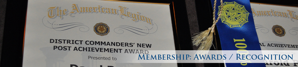 Membership: Awards/Recognition