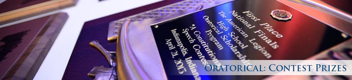 Oratorical: Contest Prizes