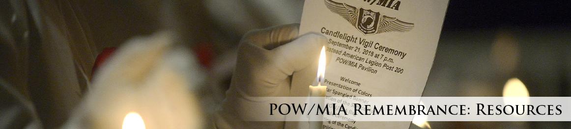 POW/MIA: Resources