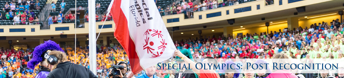 Special Olympics: Post Recognition