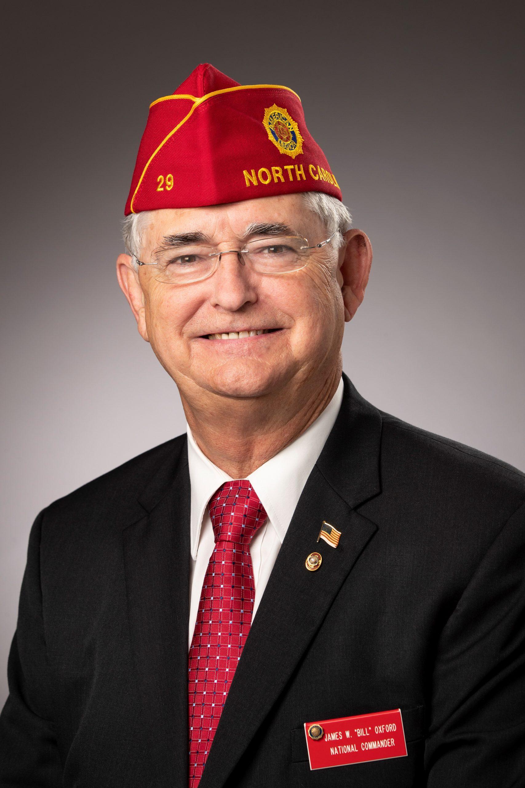 "National Commander James W. ""Bill"" Oxford"