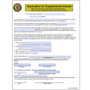 Supplemental Charter Application