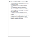 Guidelines for Permanent Charter