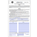 Temporary Charter Application