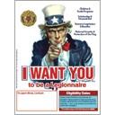 Uncle Sam Recruitment Flyer