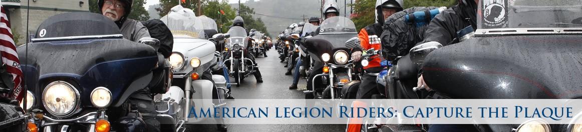 American Legion Riders: Capture the Plaque